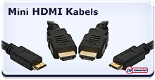 HDMI mini kabels